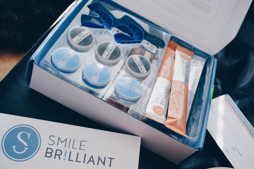 risa xu smile brilliant teeth whitening kit packaging