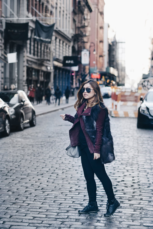 risa xu soho outfit petite blogger