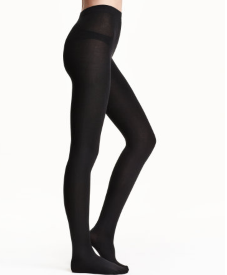 hm fleece tights