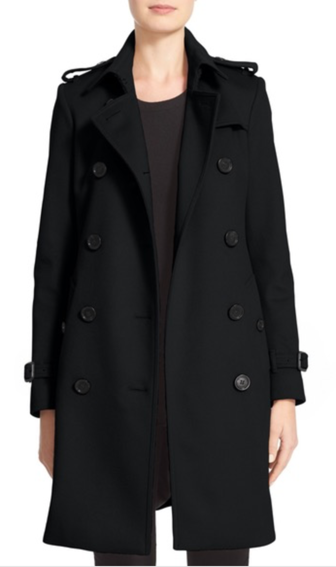 burberry kensington wool cashmere coat