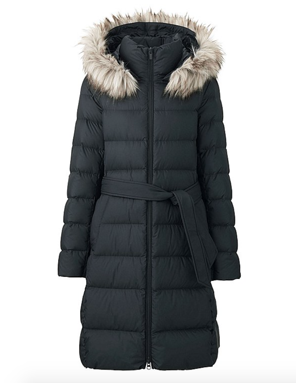 uniqlo WOMEN LIGHTWEIGHT DOWN HOODED COAT