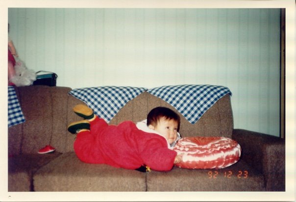 risa xu baby picture 1992
