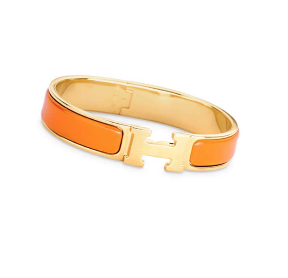 Hermès Clic H Orange