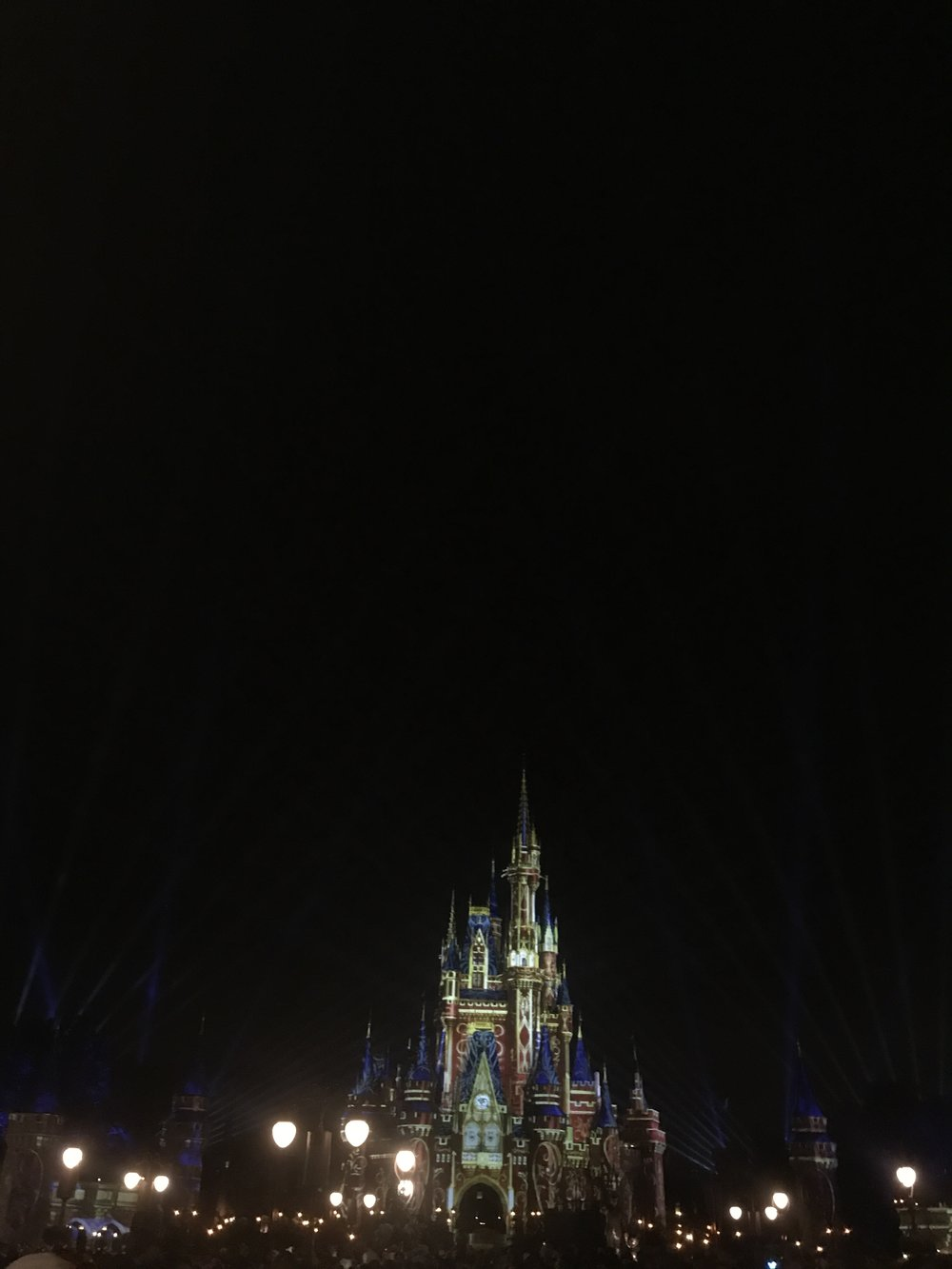 risa xu Disney world happily ever after fireworks castle
