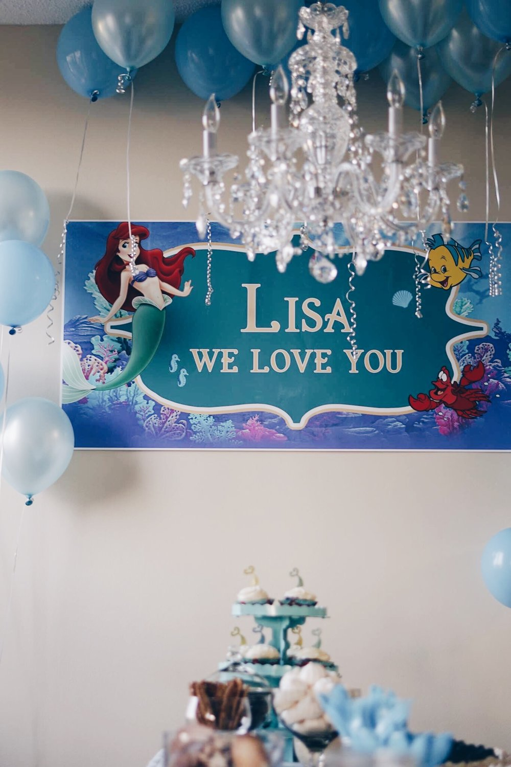 risa xu little mermaid bridal shower