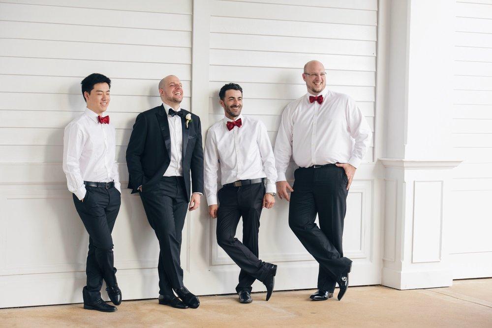 disney wedding risa xu groomsmen happily ever arvanitis