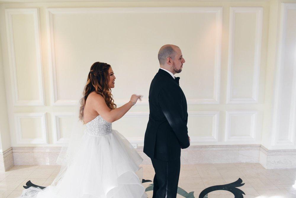 risa xu disney wedding first look happily ever arvanitis