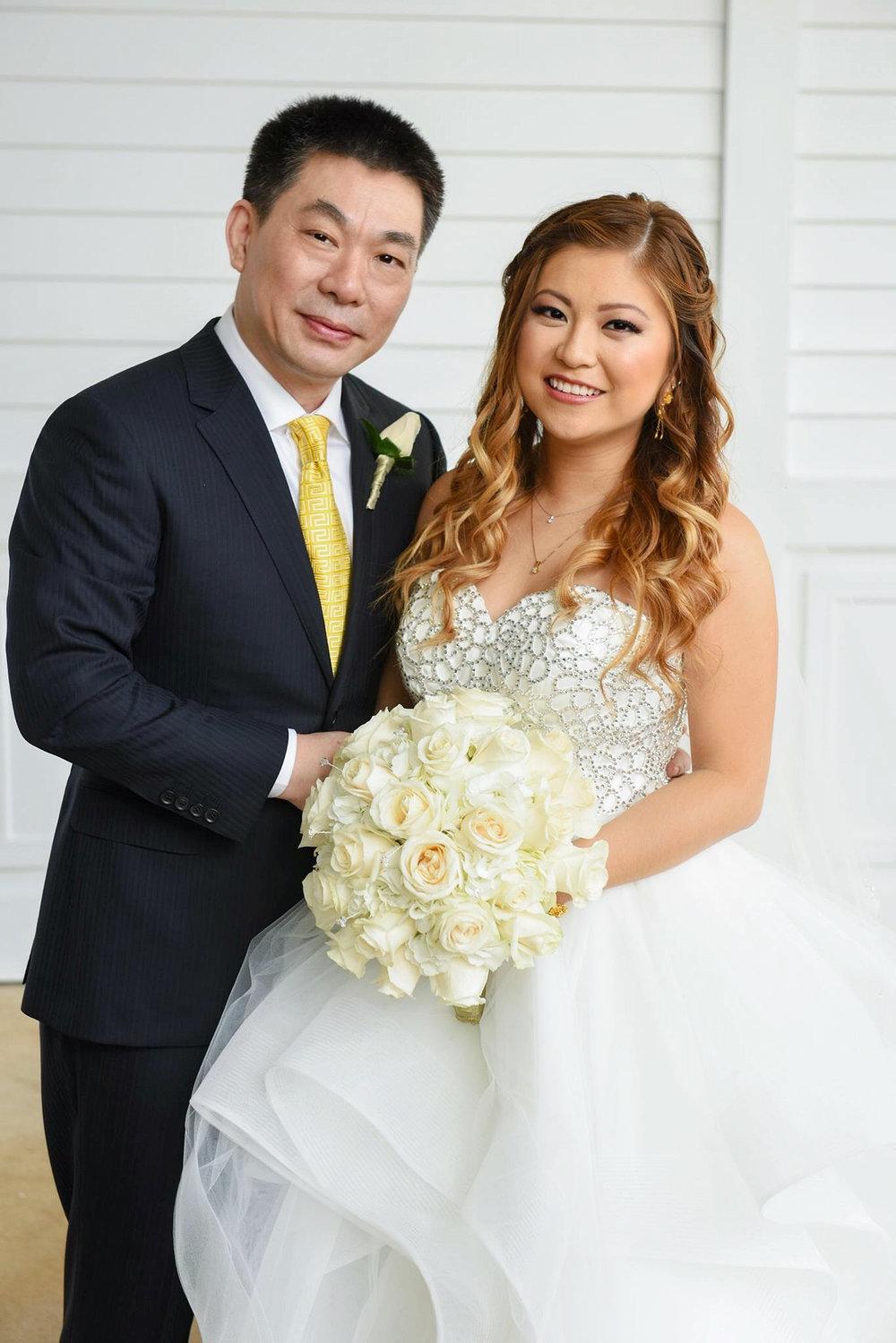 disney wedding risa xu