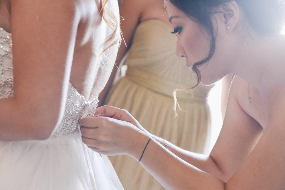 disney wedding risa xu getting ready