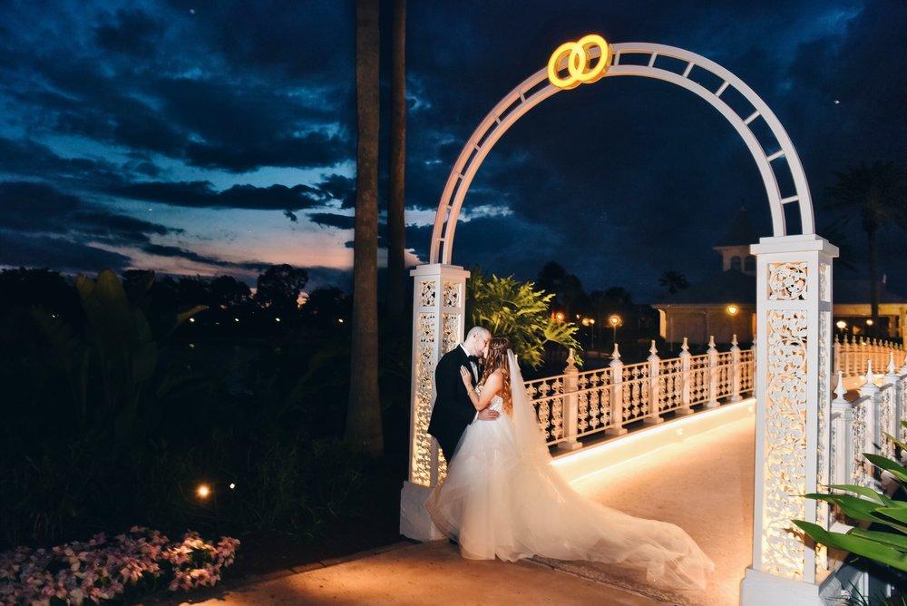disney wedding risa xu wedding pavilion pnina tornai sunset