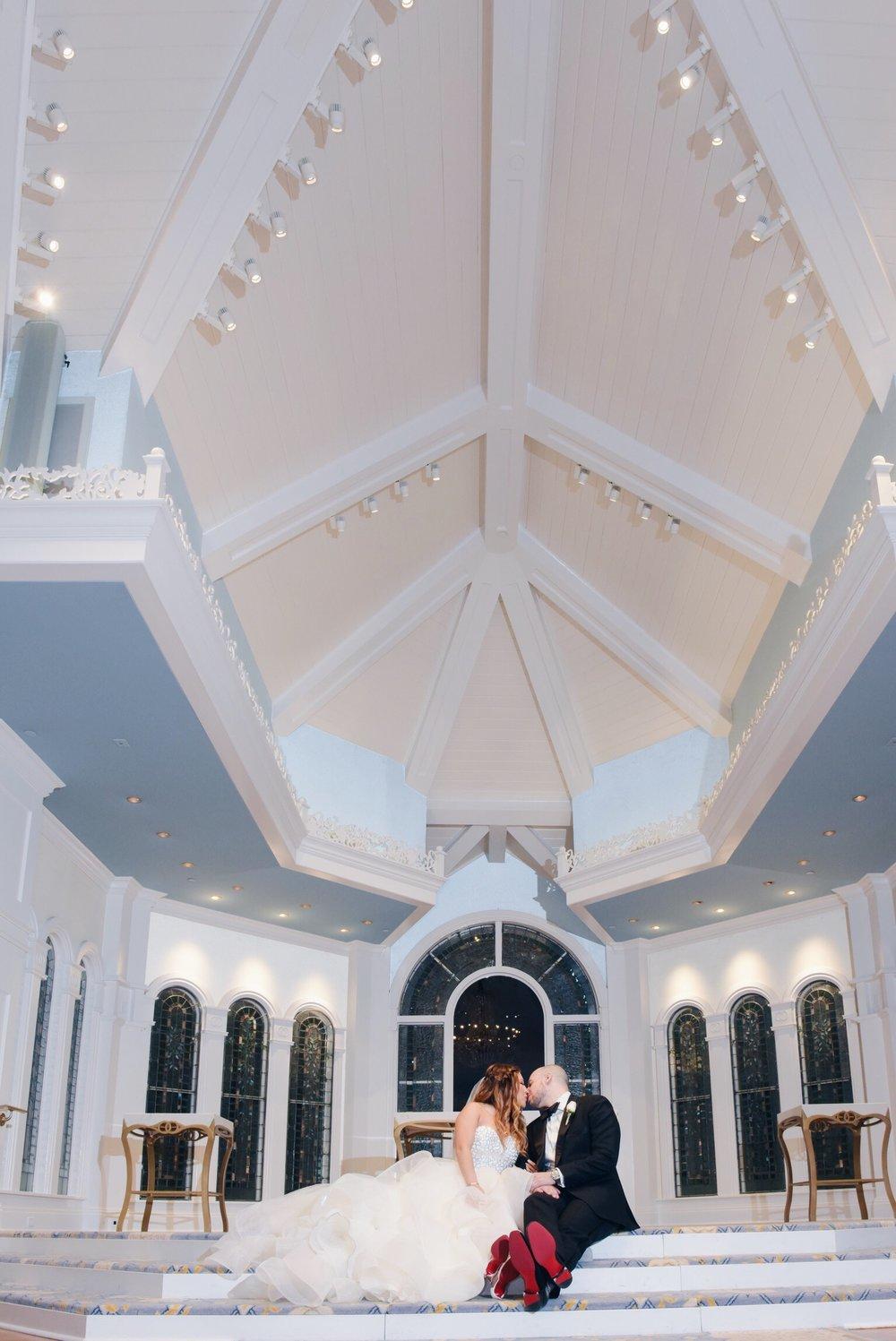 disney wedding risa xu wedding pavilion christian louboutin