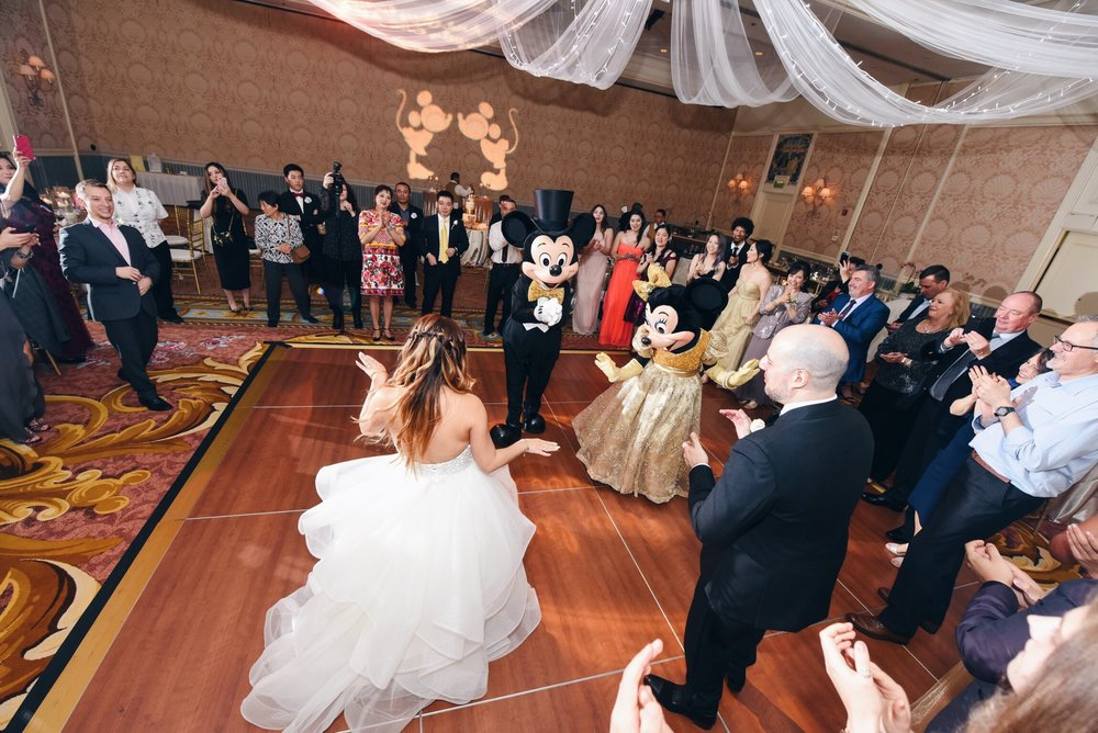 disney weddings risa xu happily ever arvanitis grand floridian mickey and minnie
