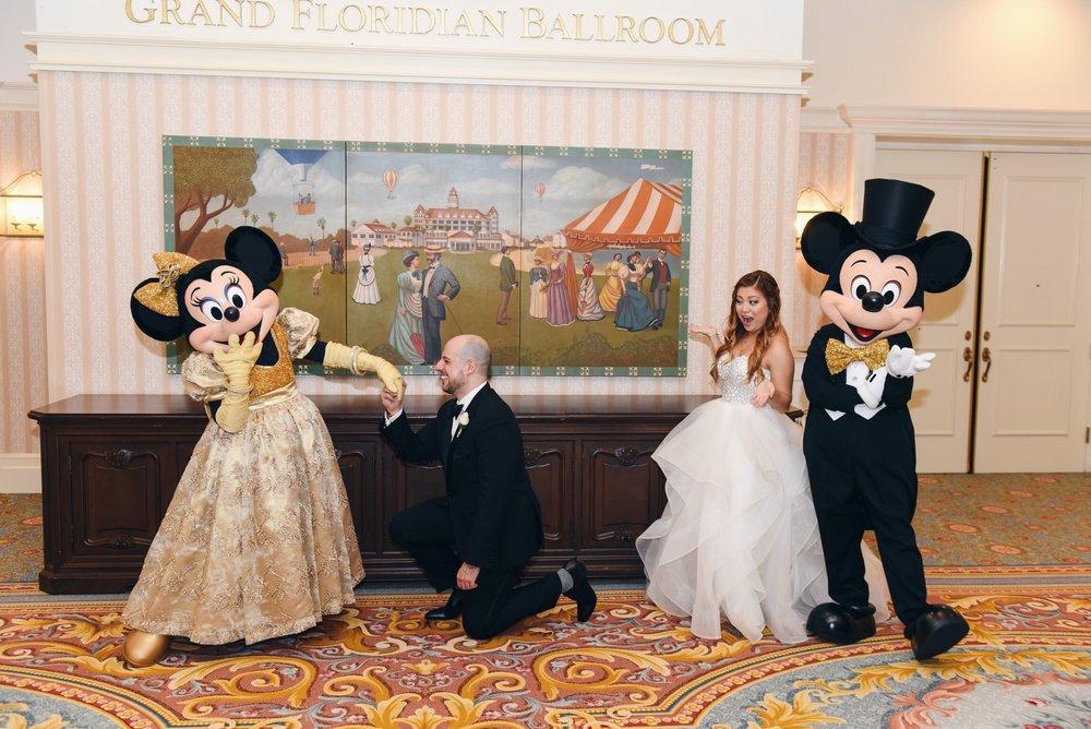 disney wedding risa xu mickey minnie grand floridian
