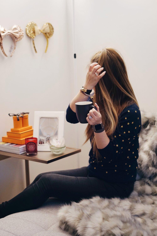 risa xu blogger at home
