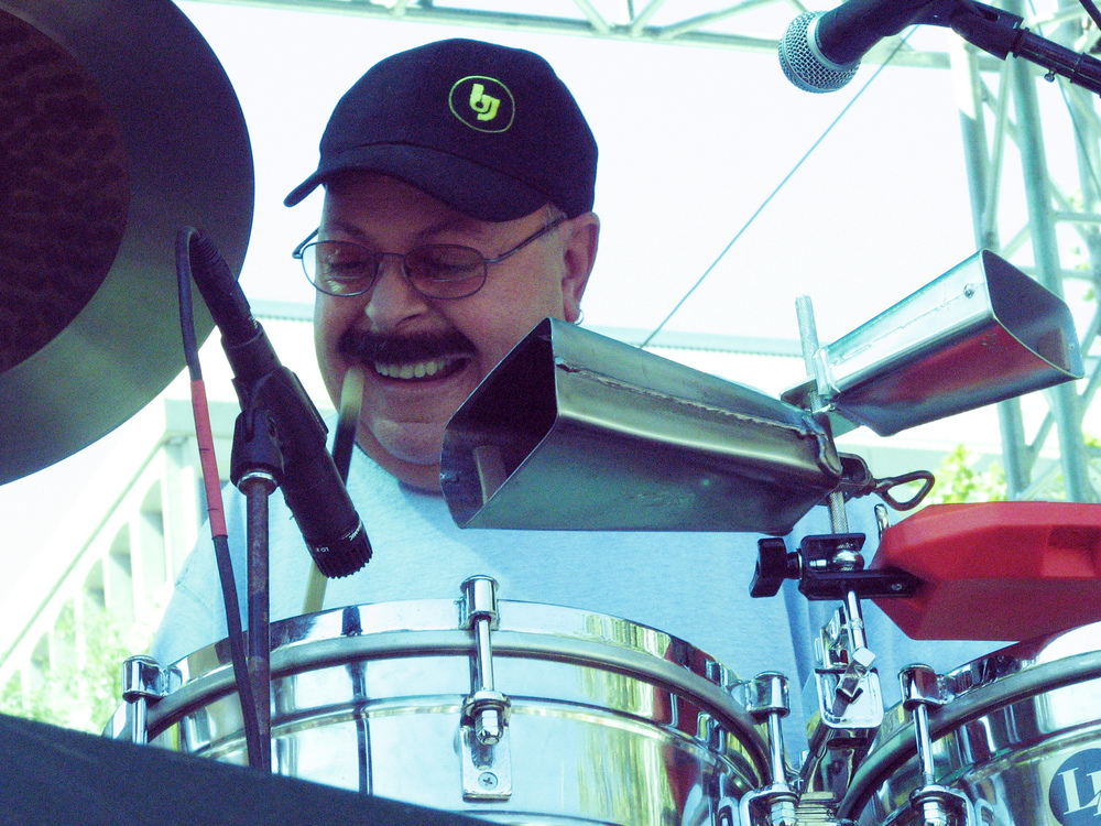 Orestes Vilato, world renowned timbalero, at the San Jose Jazz Festival 2007.jpg
