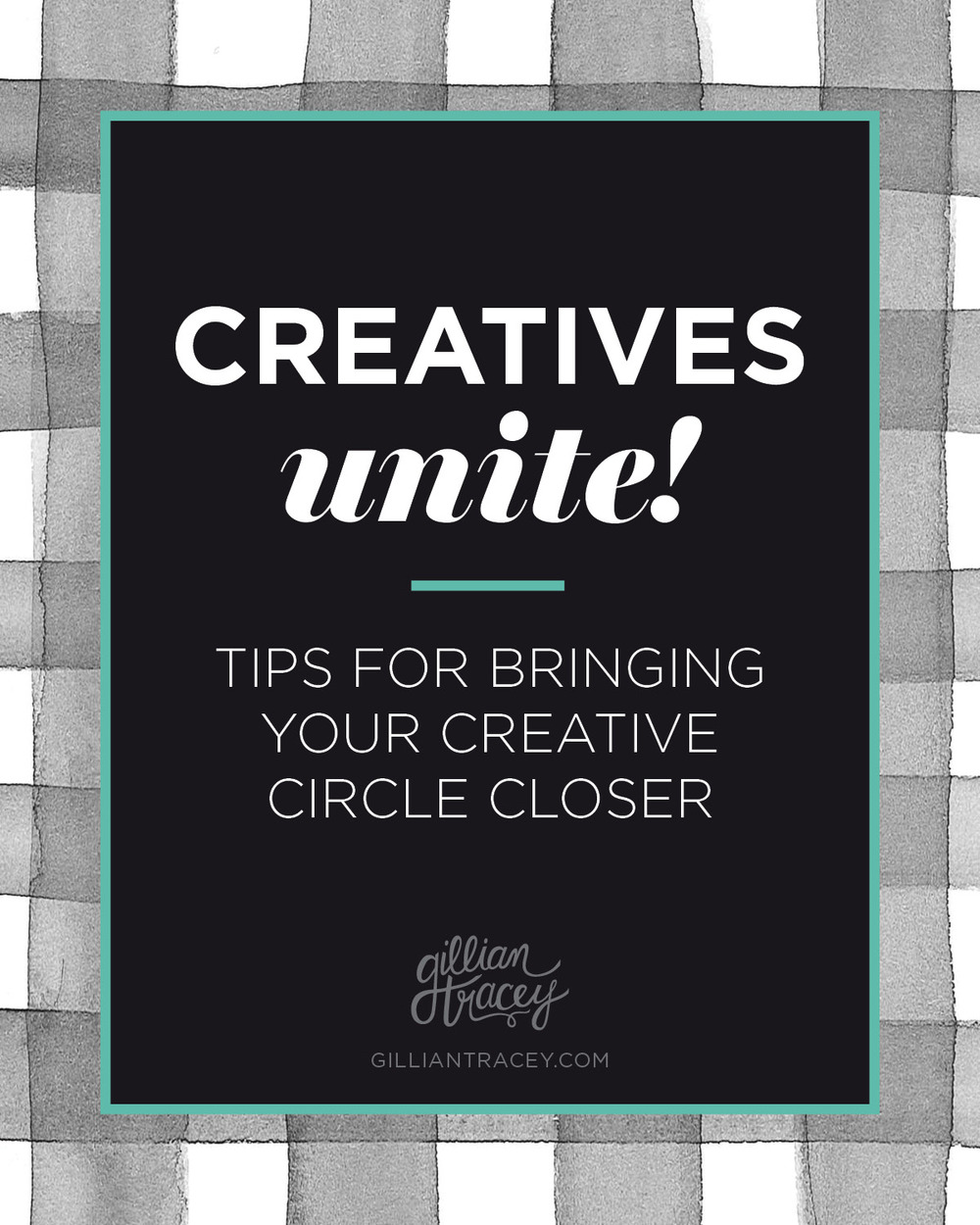Bringing your creative community closer, blog post on Gillian Tracey Design