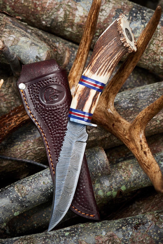 ducks-unlimited-auction-deer-antler-fixed-blade-knife-sheath.jpg