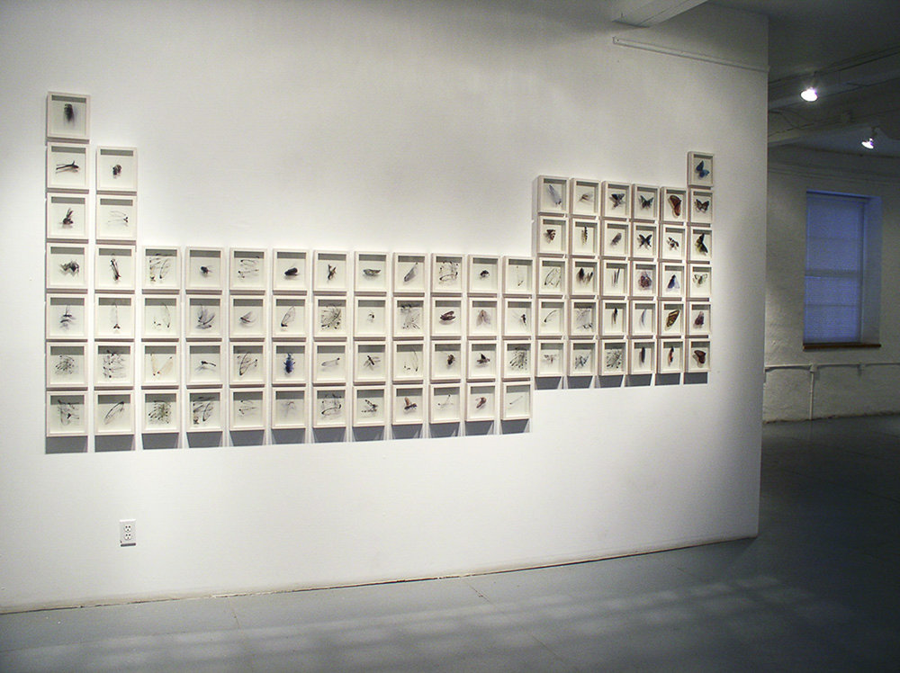Icarus  , Installation view,  The Visual Arts Centre of Clarington, 2005