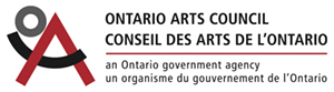 - The artist would like the thank the Ontario Arts Council for all their support.