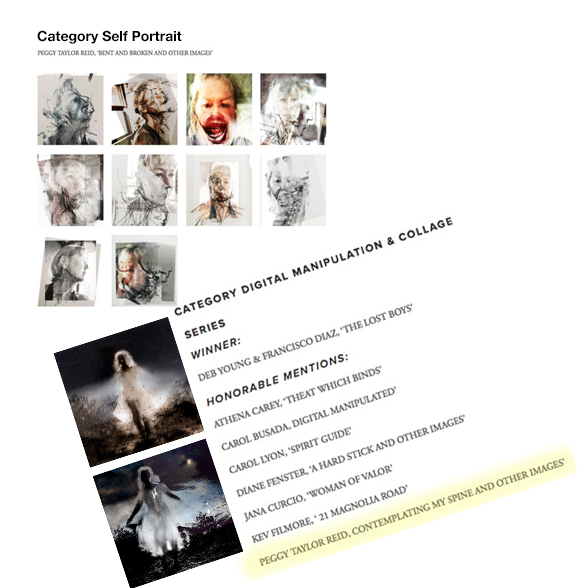 Very honoured to have two bodies of work selected as honourable mentions in the 12th Julia Margaret Cameron Awards. One body of work for the category self portrait and the other series of work in the category Digital Manipulation and Collage.  https://www.thegalaawards.com/results-12th-jmca-non-pro-section/