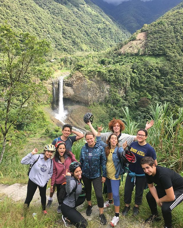 Our tutors have officially left for Ecuador this past week and have traveled to Baños to spend time exploring and bonding before our TQP summer camp begins on Wednesday! 🇪🇨 #thequitoproject #regalasonrisas