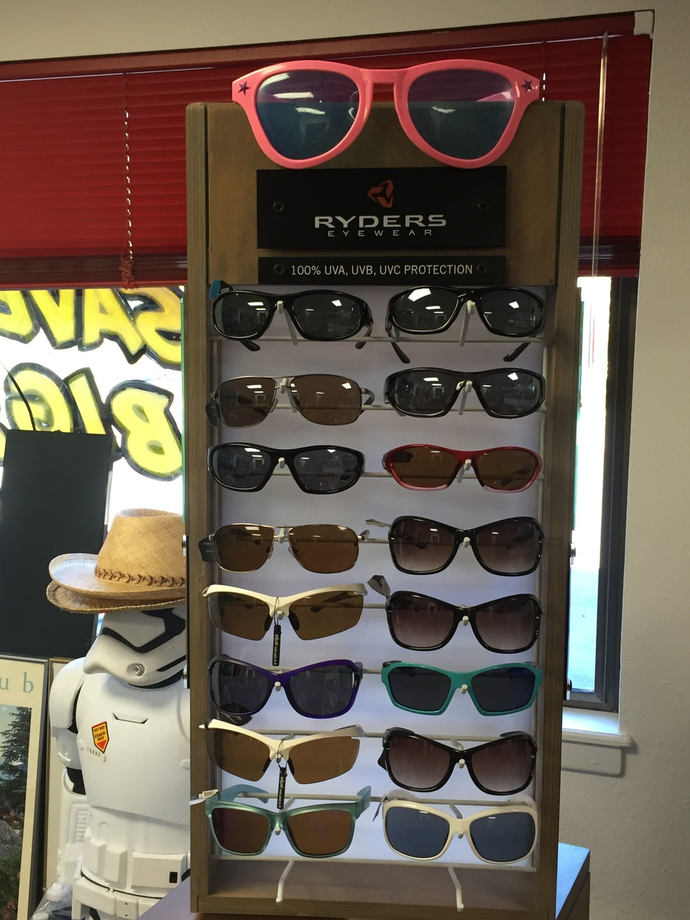 Sunglasses from Ryder
