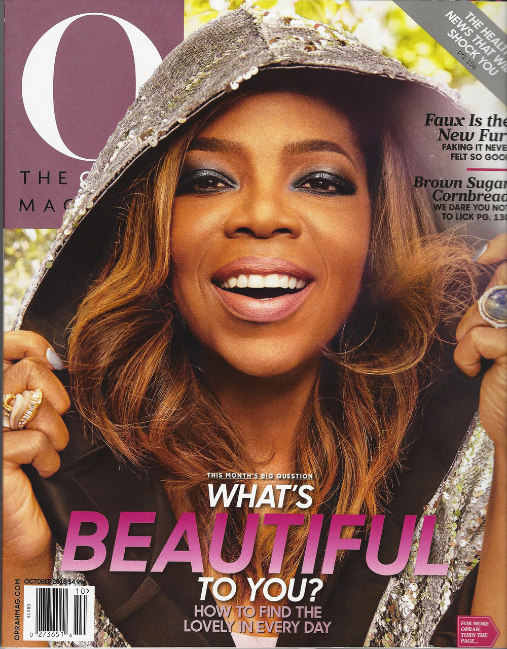 "O Magazine ""The O List Pet Edition"" 2018"