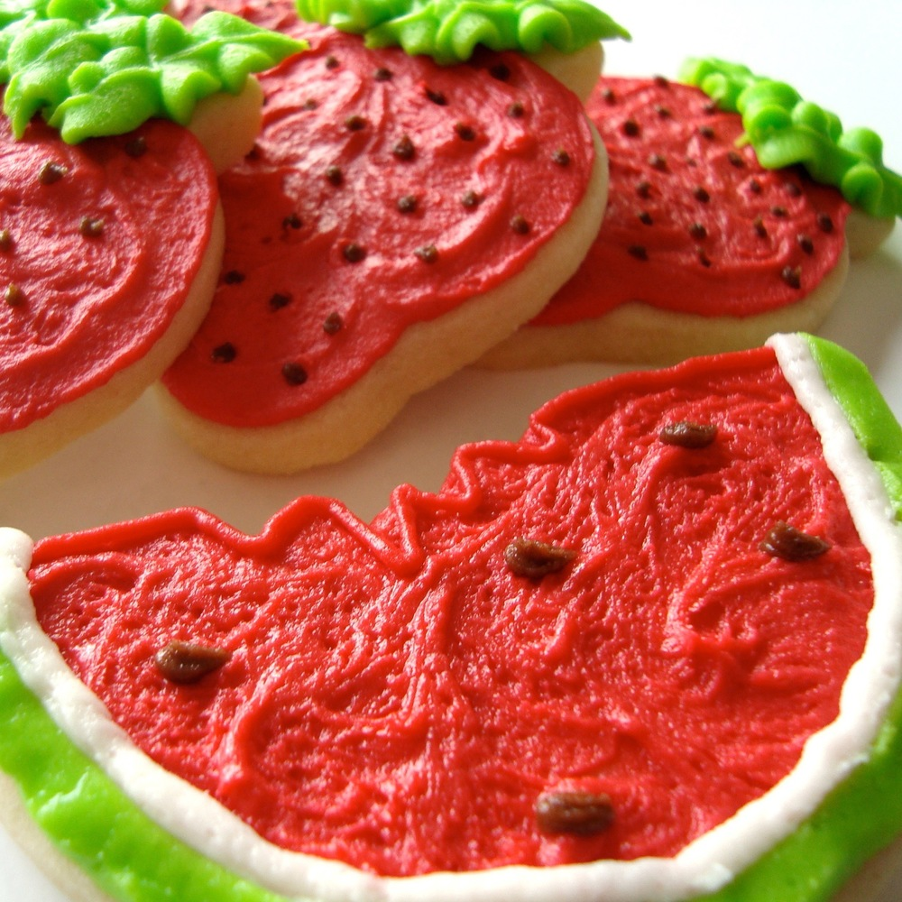Seasonal.Summer.cookies.Watermelon.Strawberry.jpg