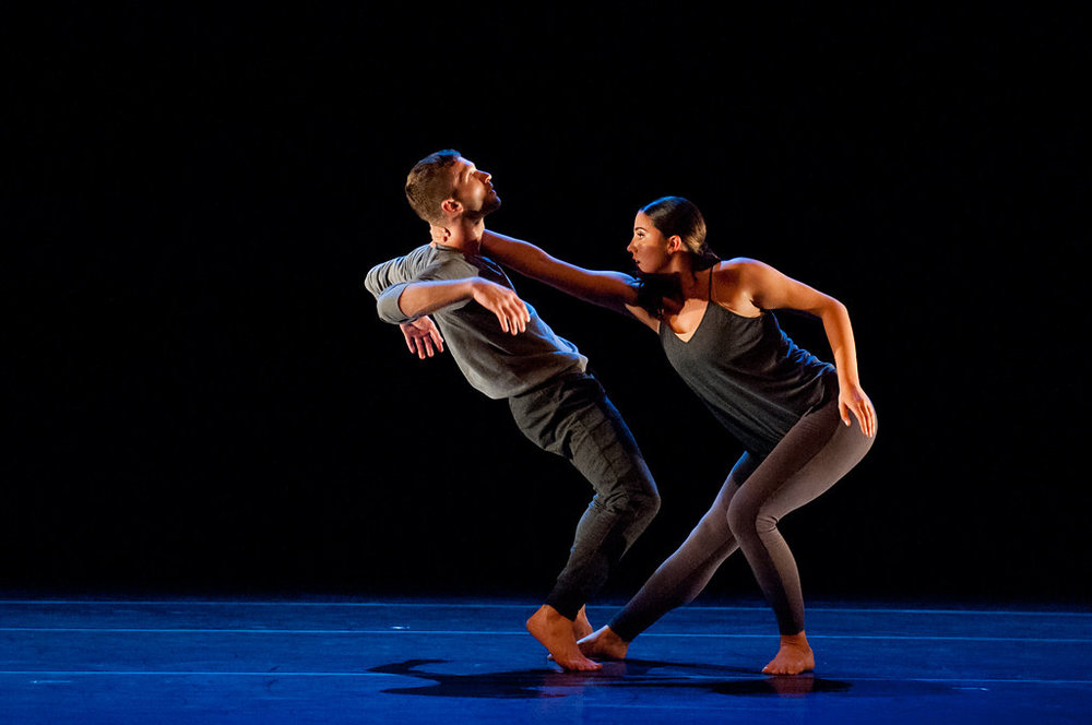 Stephen DiBiase and Alex Carrington of tinypistol in Maurya Kerr's  Wantful .  photo: Natalia Perez