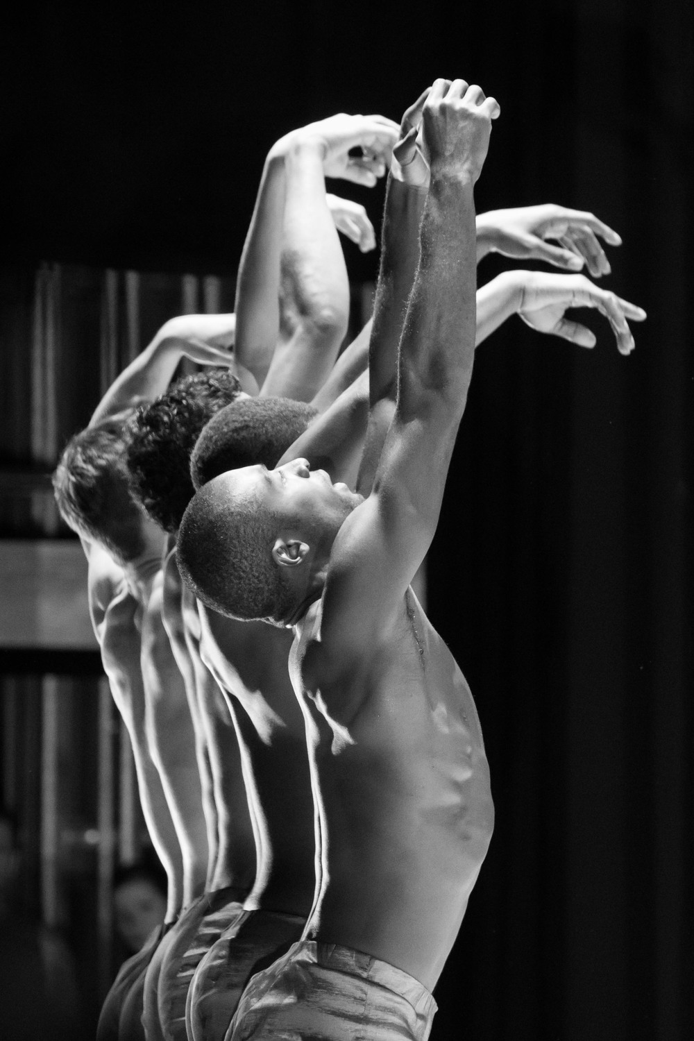 Babtunji of Alonzo King LINES Ballet. photo by Drew Altizer