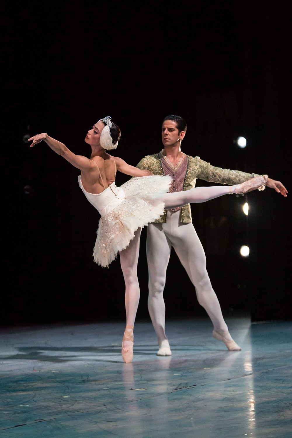 Marcelo Gomes and Stella Abrera of American Ballet Theatre. photo by Alex Reneff-Olson