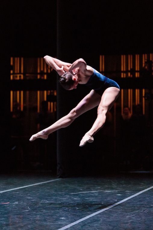 Ilaria Guerra of dawsondancesf in Gregory Dawson's  Gestures and Angels.  photo: Alex Reneff-Olson
