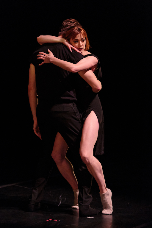 Laura O'Malley and Brett Conway of SFDanceworks in Danielle Rowe's world premiere  For Pixie . photo: Alex Reneff-Olson
