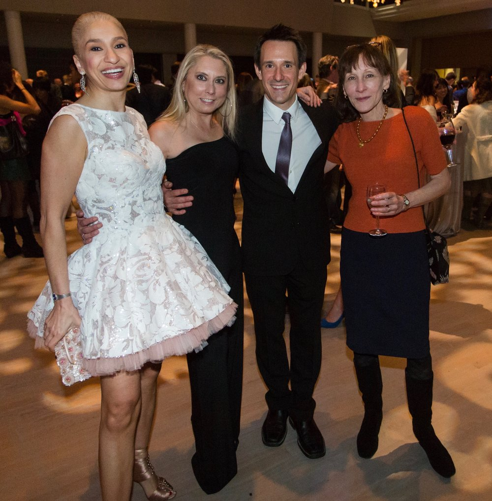 Navid Armstrong, DanceFAR co-founders Margaret Karl and James Sofranko, Claire Sheridan