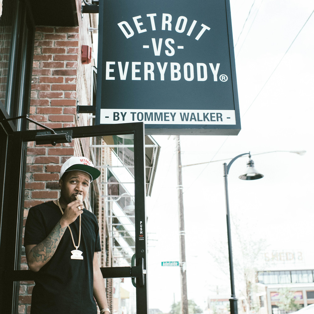 My bro Tommey Walker creator and owner of Detroit Vs Everybody