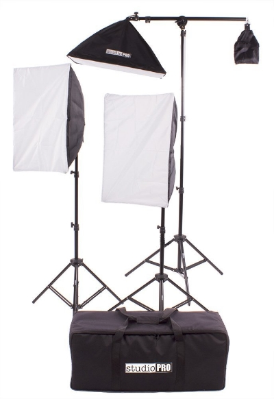 Studio pro lighting kit (interview lighting)