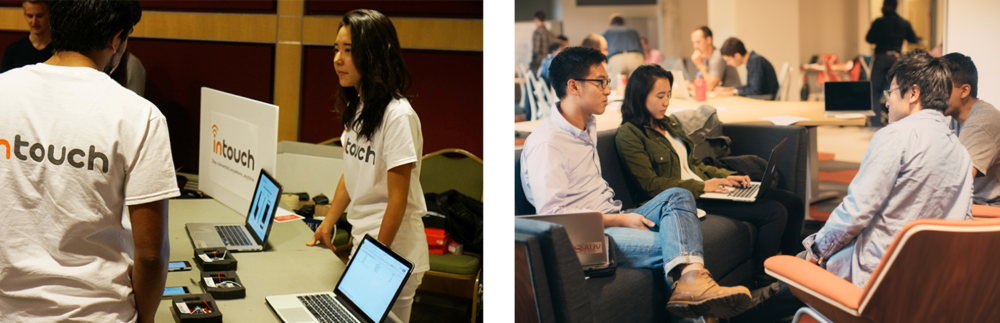 Tabling after Cornell Accelerator Demo Day 2015