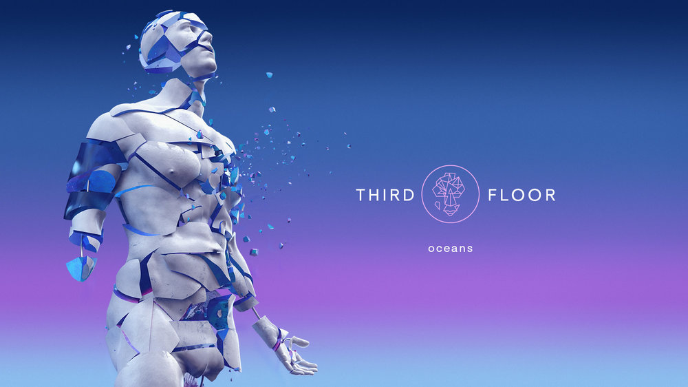 Oceans  Creative direction,3D design & motion graphics.