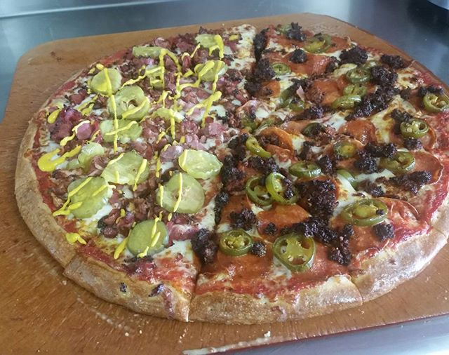 Combo's Pizza is open today till 8pm or call and we can deliver free within 4 miles.