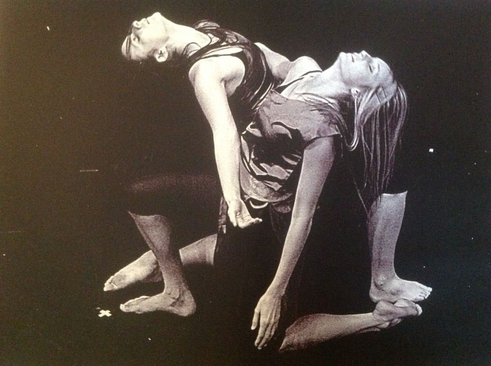 "A moment from Holly's first work of choreography, entitled ""Memories Held in My Hand."" (pictured Nicole O'Malley & Kiley Kennedy [now Simmons])"