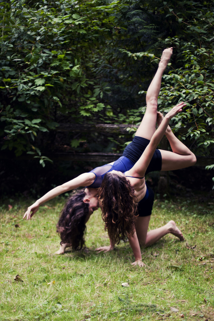 Intrepidus Dancers Ciara McCormack & CarliAnn Forthun. Photo courtesy of  S. Weissbach Photography .