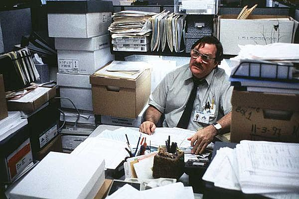 'The past is a foreign country' - L. P. Hartley. Image: Office Space (1999)