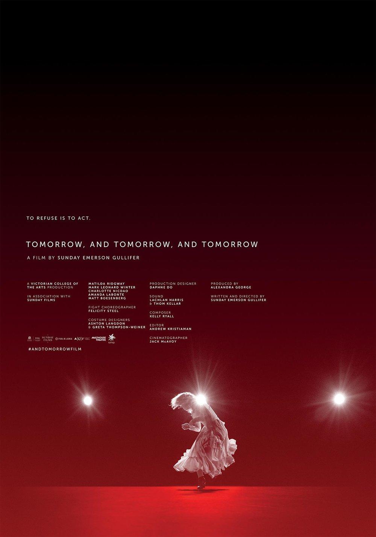Tomorrow, and tomorrow, and tomorrow  Official key art design by Jeremy Saunders