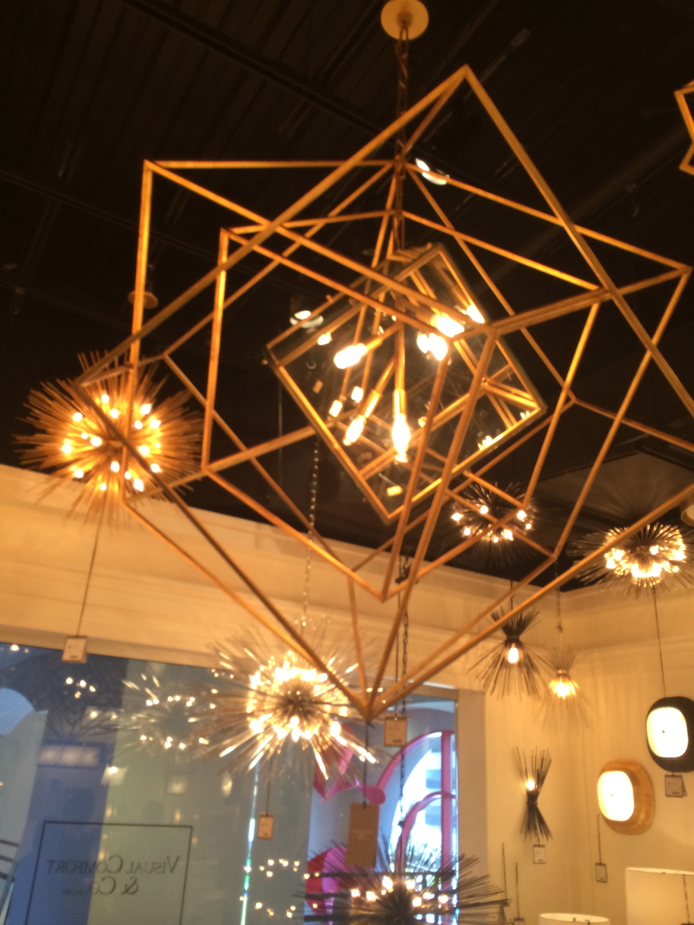 Kelly Wearstler Cube Chandelier