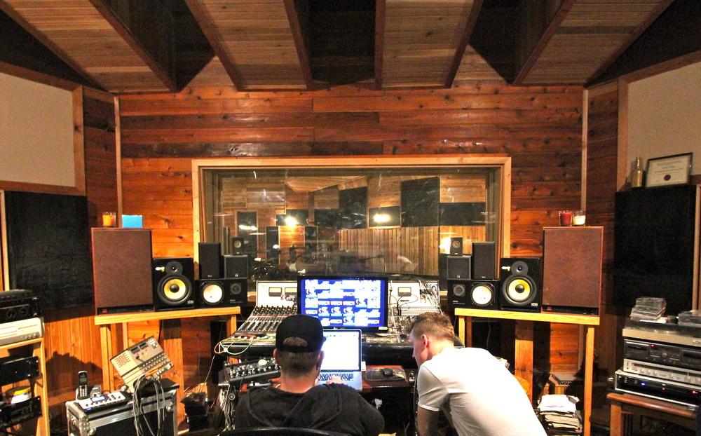 Derek & Eric @ Bedside Studios. May 2015