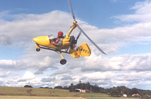 Montgomerie Merlin single-seat autogyro