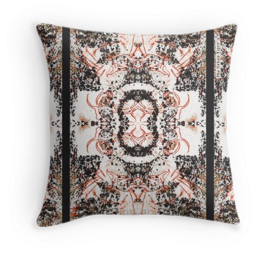 DAY 3 'TIGER LUCY SPOTS'               THROW CUSHION FROM £19.00