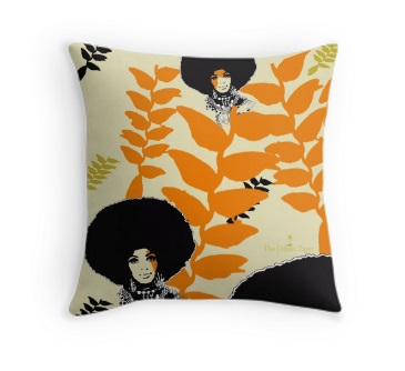 'HANGING HELICONIA'                 THROW CUSHION FROM £19.00