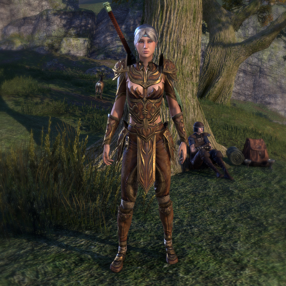 Miss Misa, my in-game character in a favourite armour set