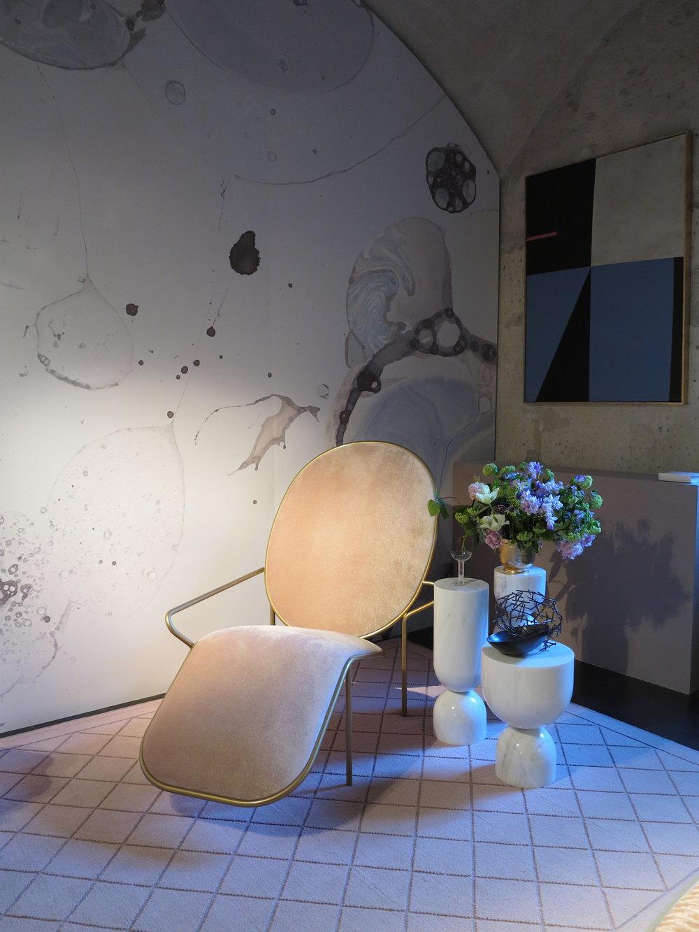 Sè  installation at Rossana Orlandi